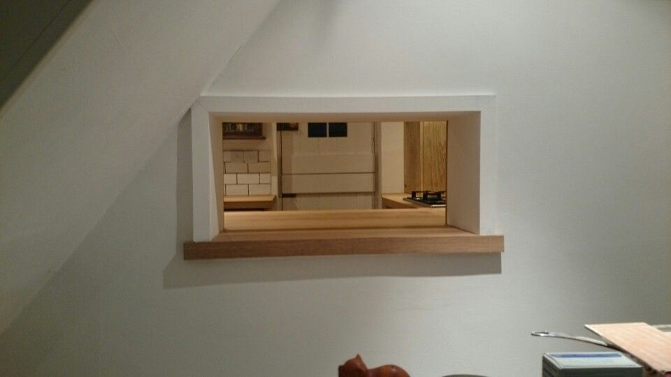 A Little Serving Hatch With Extended Lip And Architrave The Customer Was Pleased
