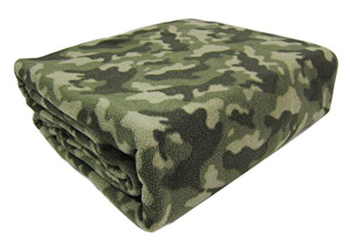 "Camouflage Twin Blanket Micro Fleece Army Camo Bed Blanket 66 x 90"" Khaki Boys Bedding RH http://www.amazon.com/dp/B00R8ID1G2/ref=cm_sw_r_pi_dp_bYd1ub1SVJTXN"
