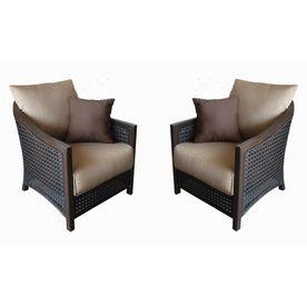 Cranston Extruded Aluminum Patio Chairs