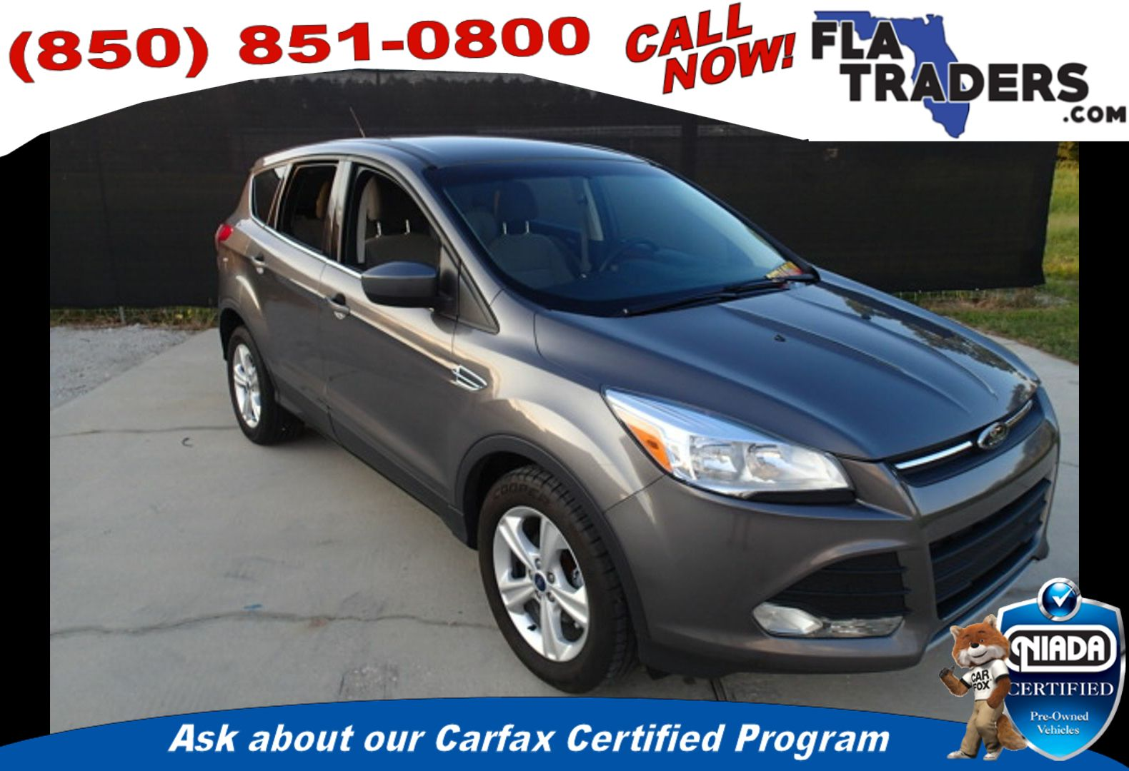 2014 FORD ESCAPE - Florida Traders Used Cars in Panama City FL ...