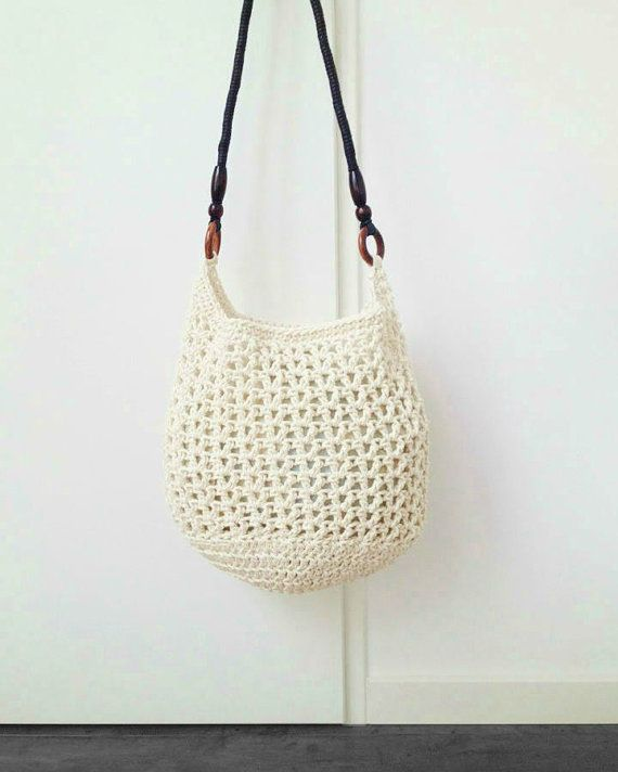 Crochet Bag Pattern - Instant Download | Bolsos, Bolso tejido y Tejido