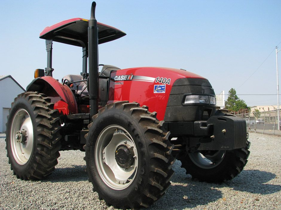 Case IH Farmall 140A MFD, ROPS Serial Number: CFO1261M Engine HP