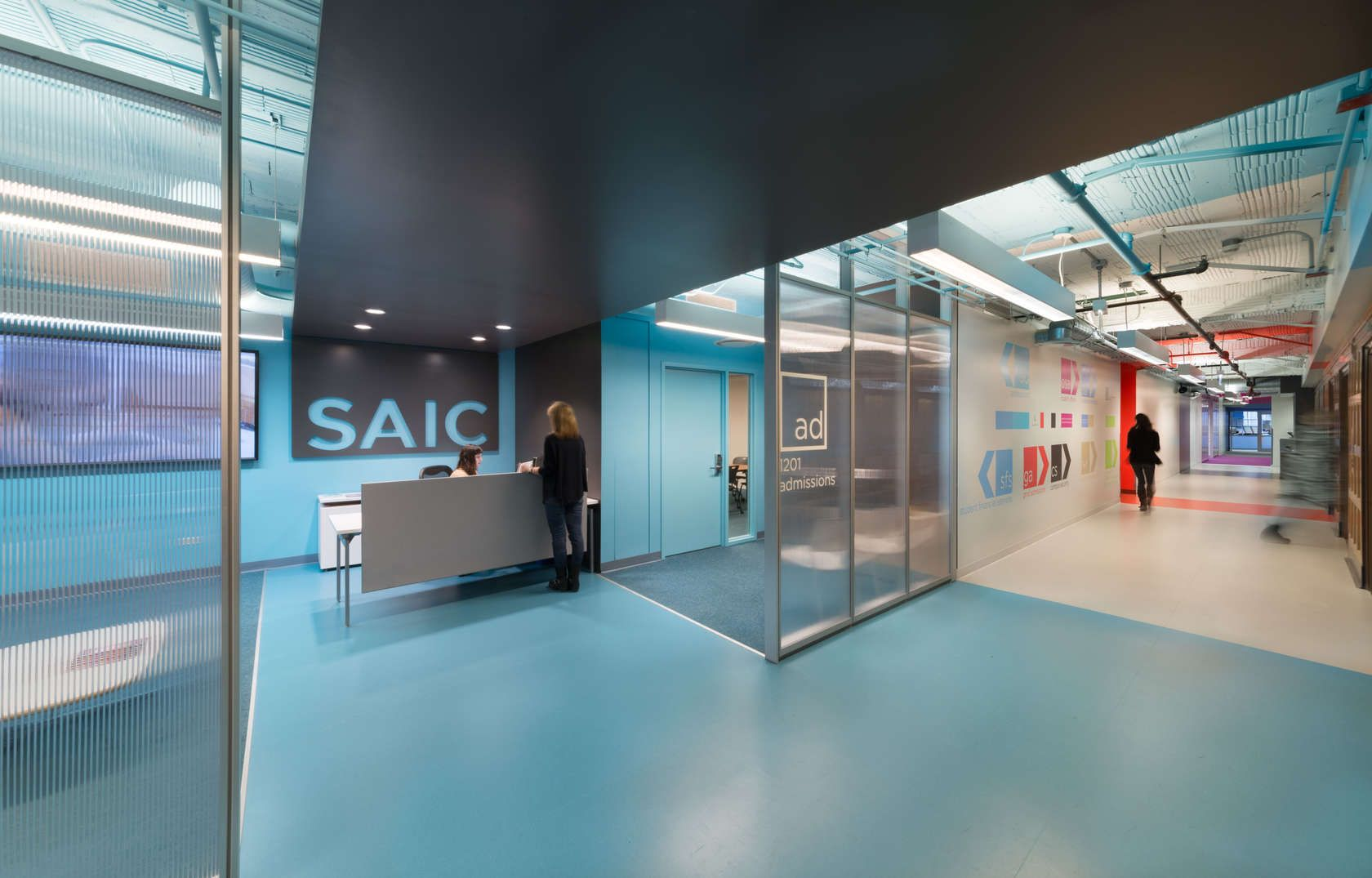 The School of the Art Institute of Chicago (SAIC) Admissions Office by JGMA