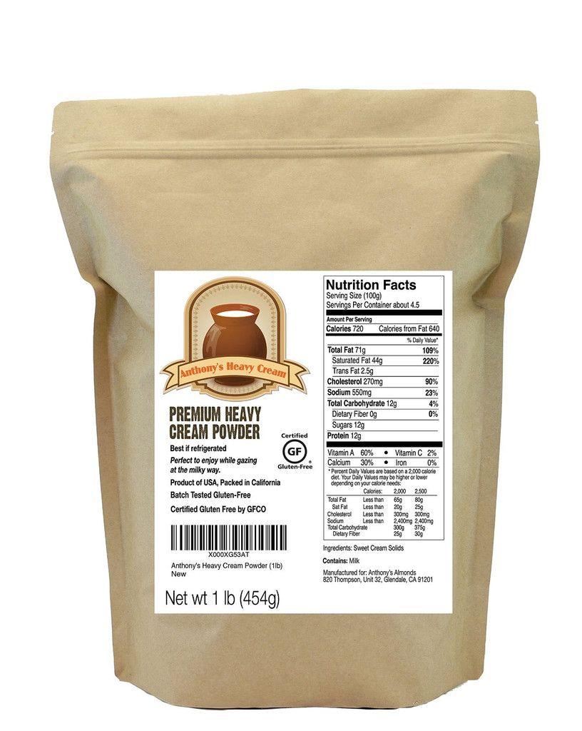 Heavy Cream Powder Batch Tested Gluten-Free, Made In Usa -2317
