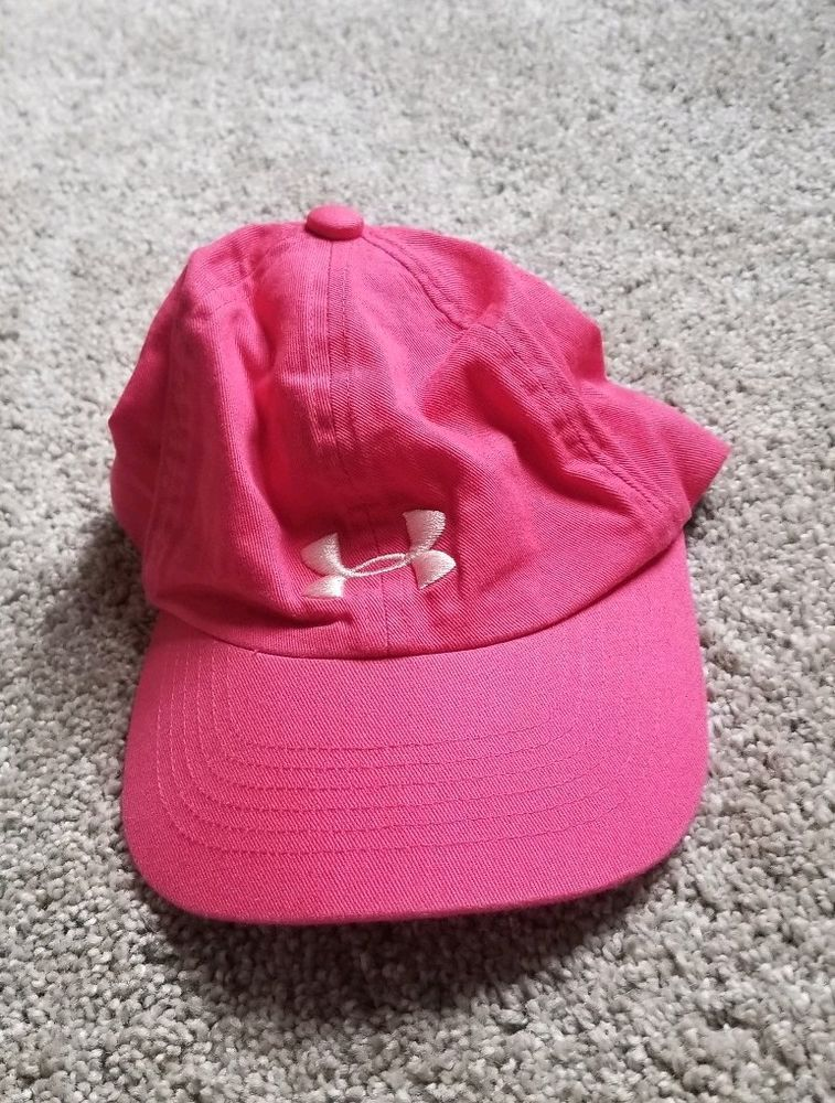 56e9d206e54 Under Armour Pink Fitted Kids Youth Baseball Hat - Size One Size Fits All   fashion  clothing  shoes  accessories  kidsclothingshoesaccs   boysaccessories ...