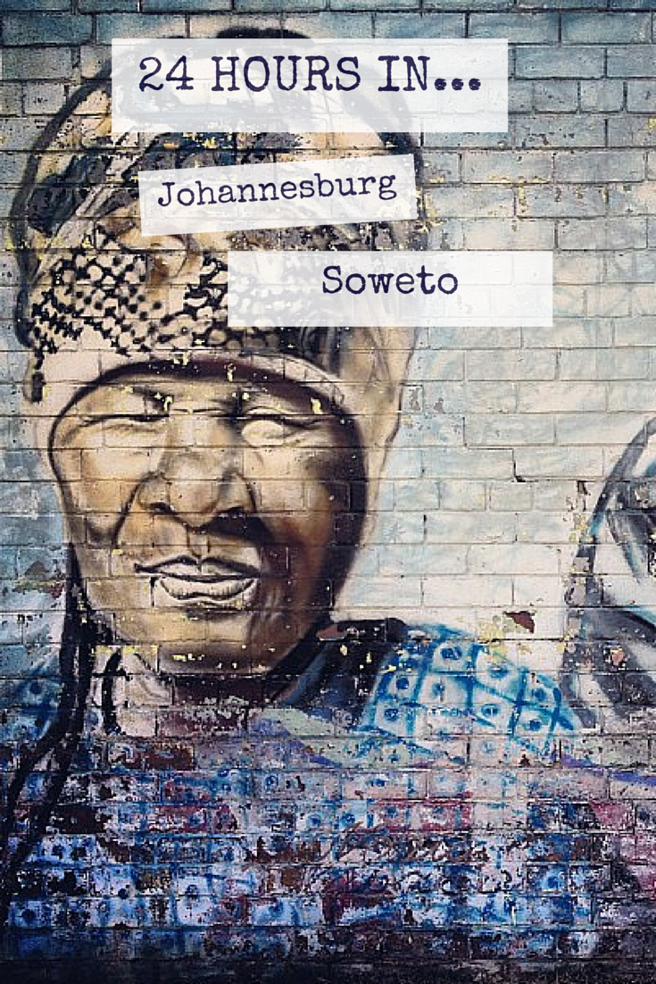 24 Hours in Johannesburg and Soweto is part of Johannesburg And Soweto In  Hours Uncornered Market - To suggest that one could experience Johannesburg and Soweto properly in 24 hours is almost patently absurd  But you do what you can, you make the best with the time you have  That's what we