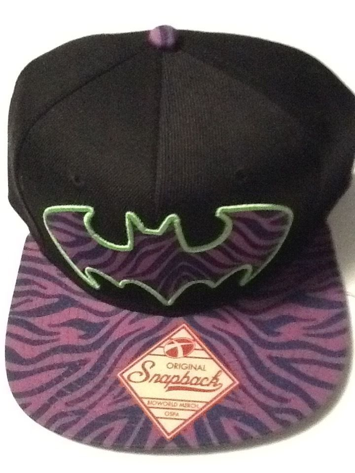5e24a5f5d Batman Hat Cap Purple Snapback COMICS COSTUME COSPLAY Hat Adjustable #Batman  #BaseballCap