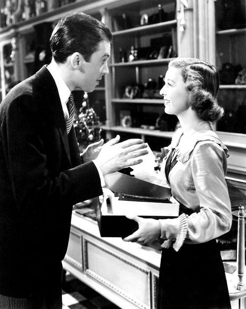 The Shop Around the Corner (1940), James Stewart and Margaret Sullavan