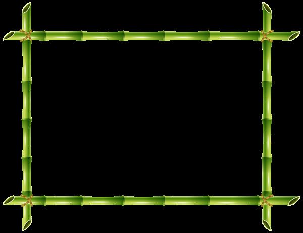 Bamboo Frame Png Transparent Clip Art Image Bamboo Frame Clip Art Art Images