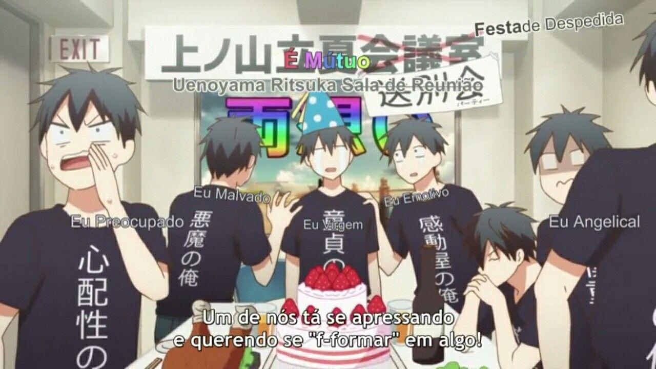 KKKKKKKKK Essa foi uma das melhores cenas Arte anime