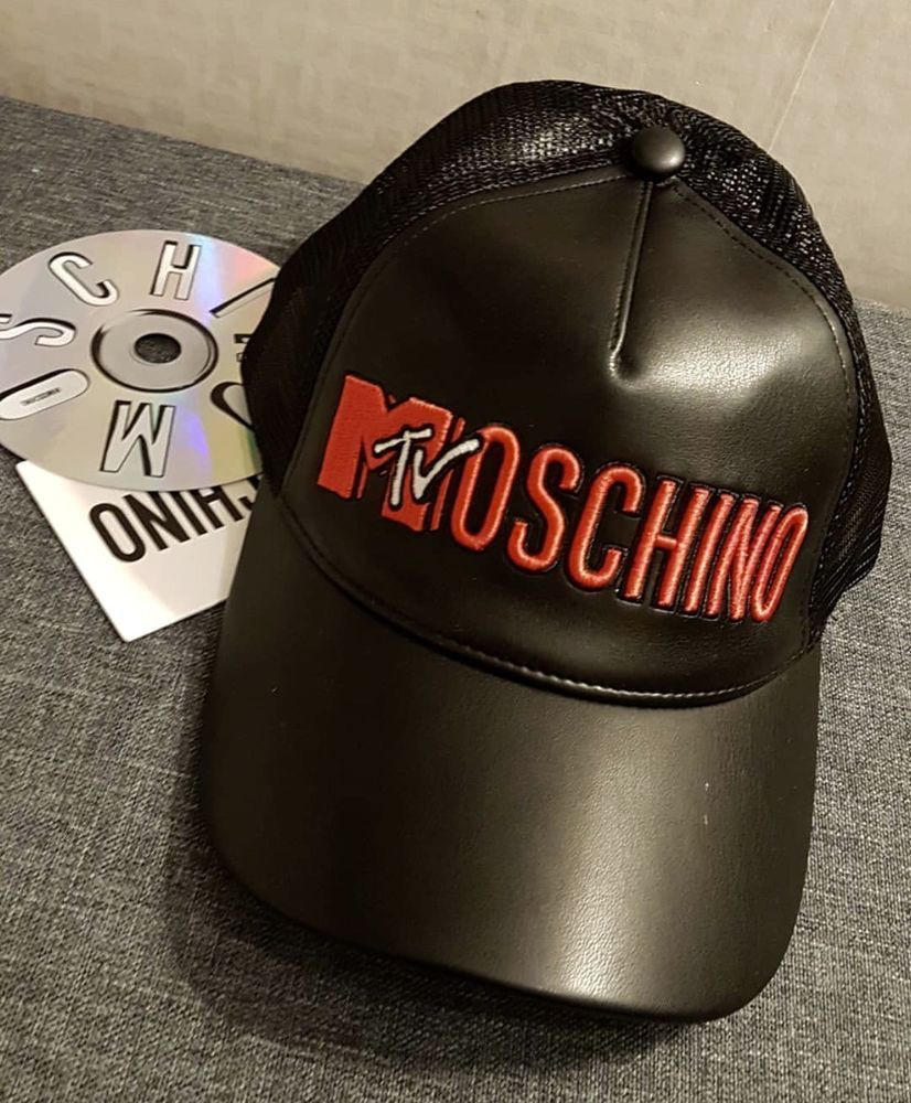 a9dc9268b76 MOSCHINO HM Embroidered Cap Men Women Black Hat TV Limited Edition MTV   fashion  clothing  shoes  accessories  mensaccessories  hats (ebay link)
