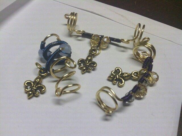 Nola Gurl loc jewelry. Coming soon!