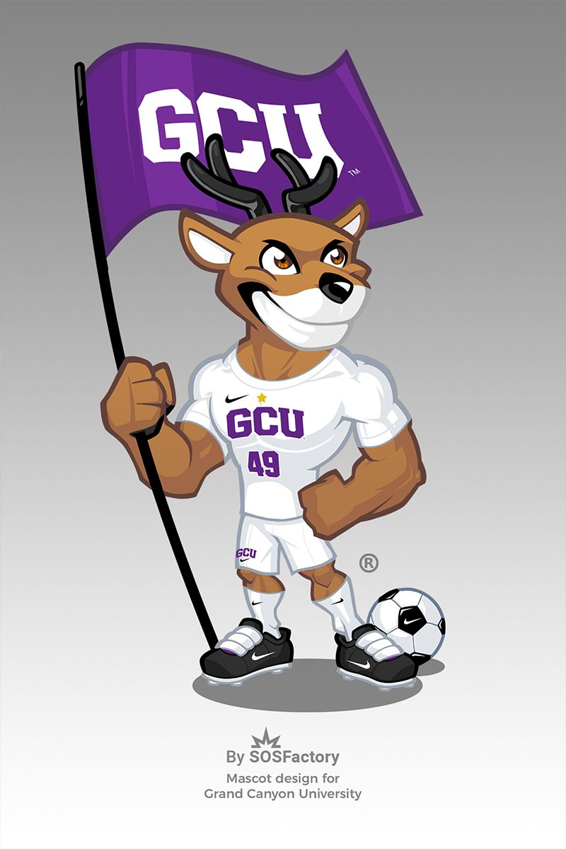 Grand Canyon University Mascot Design Mascot Design