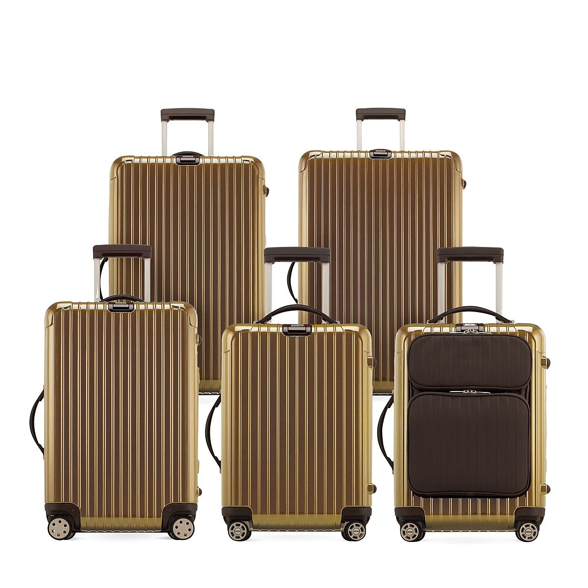 7ed654e9db Rimowa Salsa Deluxe Pearl Gold Collection - 100% Bloomingdale's Exclusive