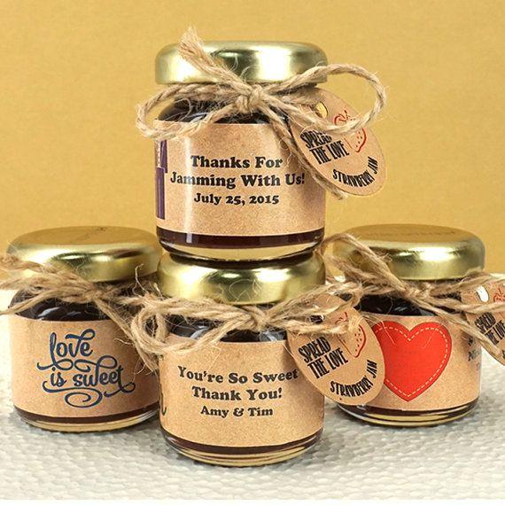 Personalized Jam Jars - Set Of 12