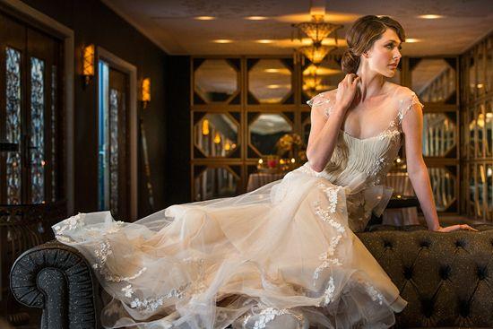 Elegant Gold and Pink Inspiration Shoot | Polka Dot Bride