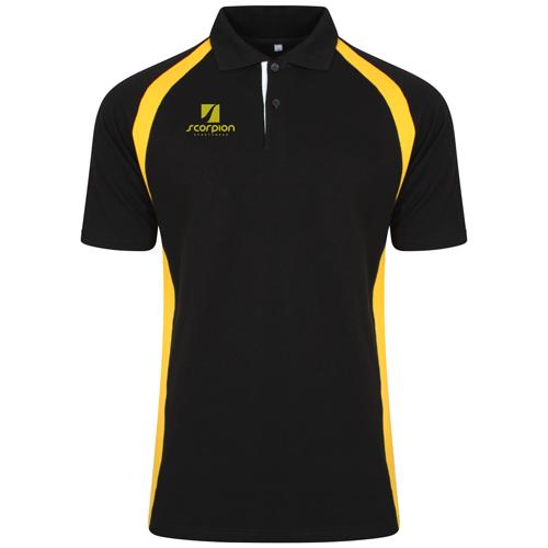 Sold each Unisex leisurewear polo shirt Cotton pique