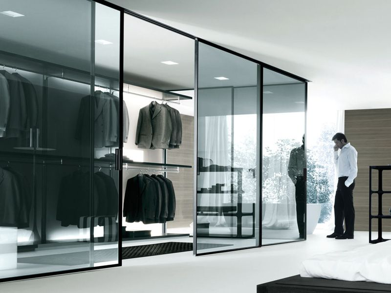 Contemporary Bedroom Design Glass Door Walk In Closet Black New Bedroom Design With Walk In Closet Design Inspiration