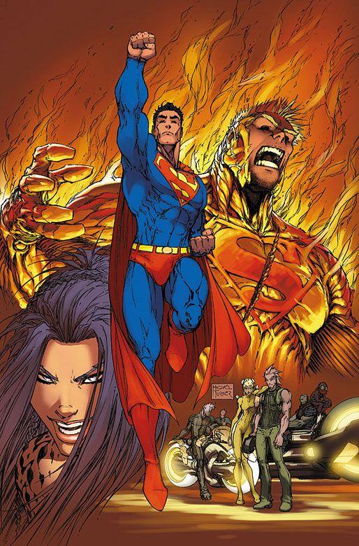 SUPERMAN #203 by Michael Turner
