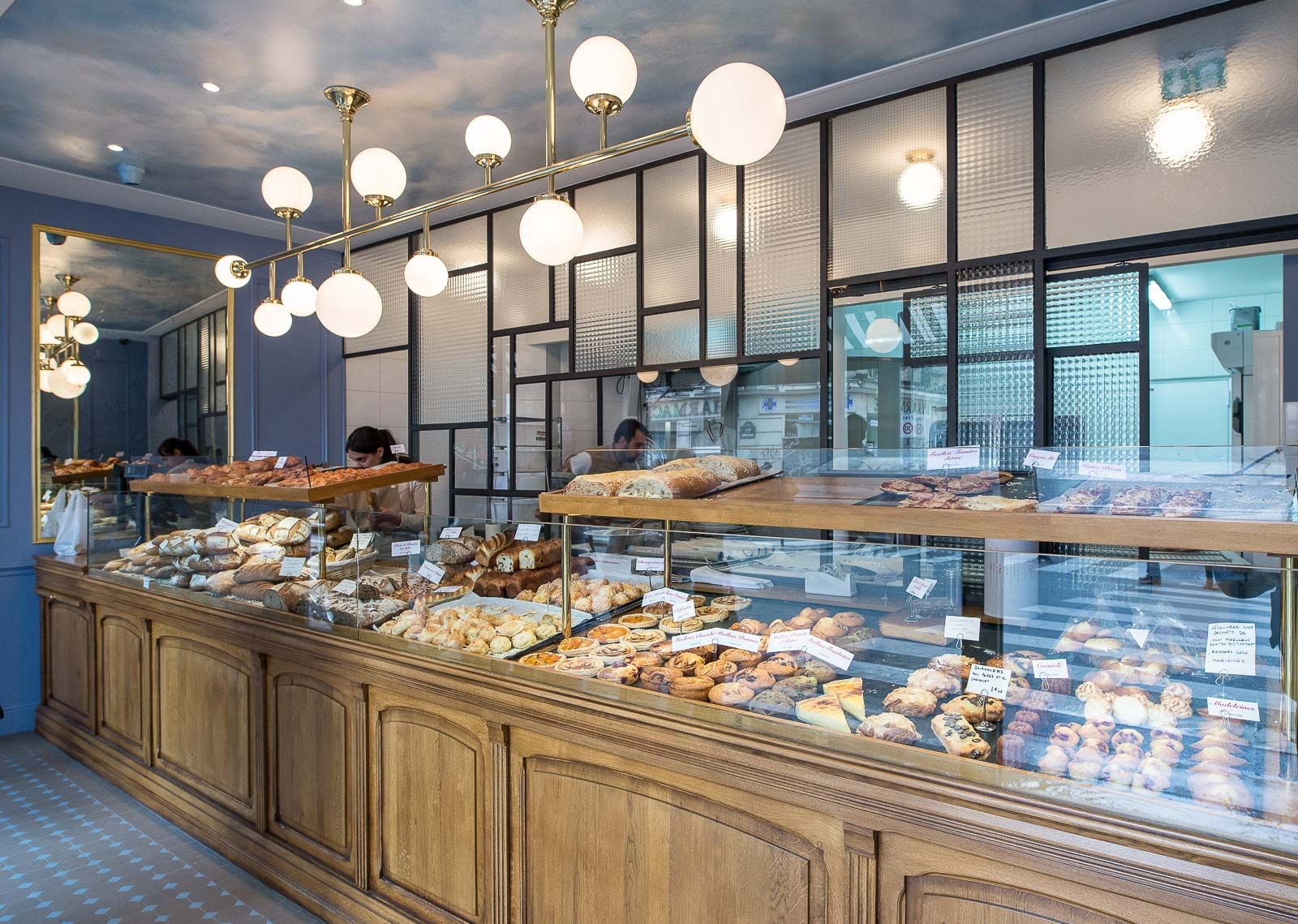 Gana boulangerie architecte interieur decorateur paris for Desing interieur