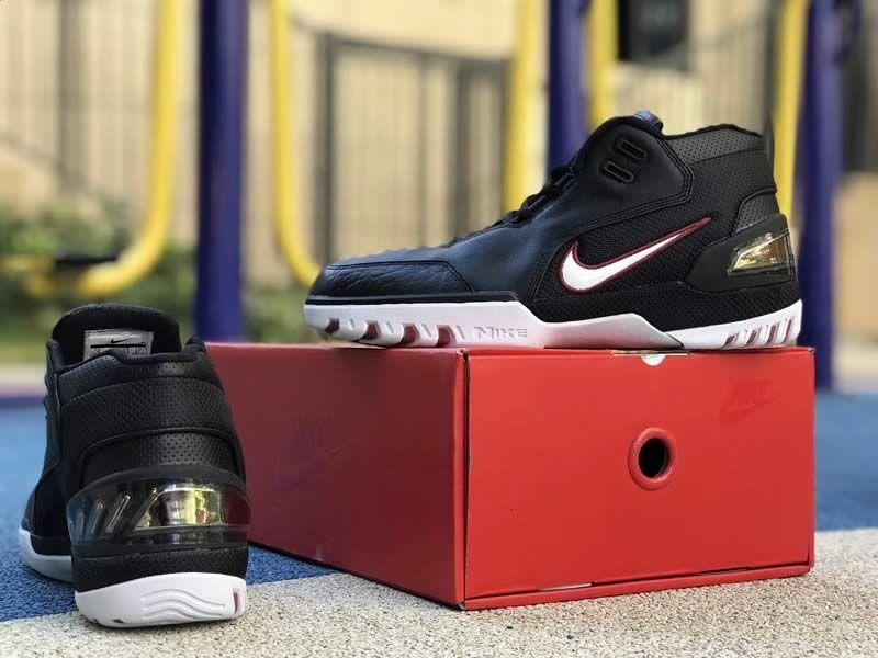 fb64f9654d18 Nike Air Zoom Generation QS LeBron James LBJ1 Black Red Shoes AJ4204-001  Box -