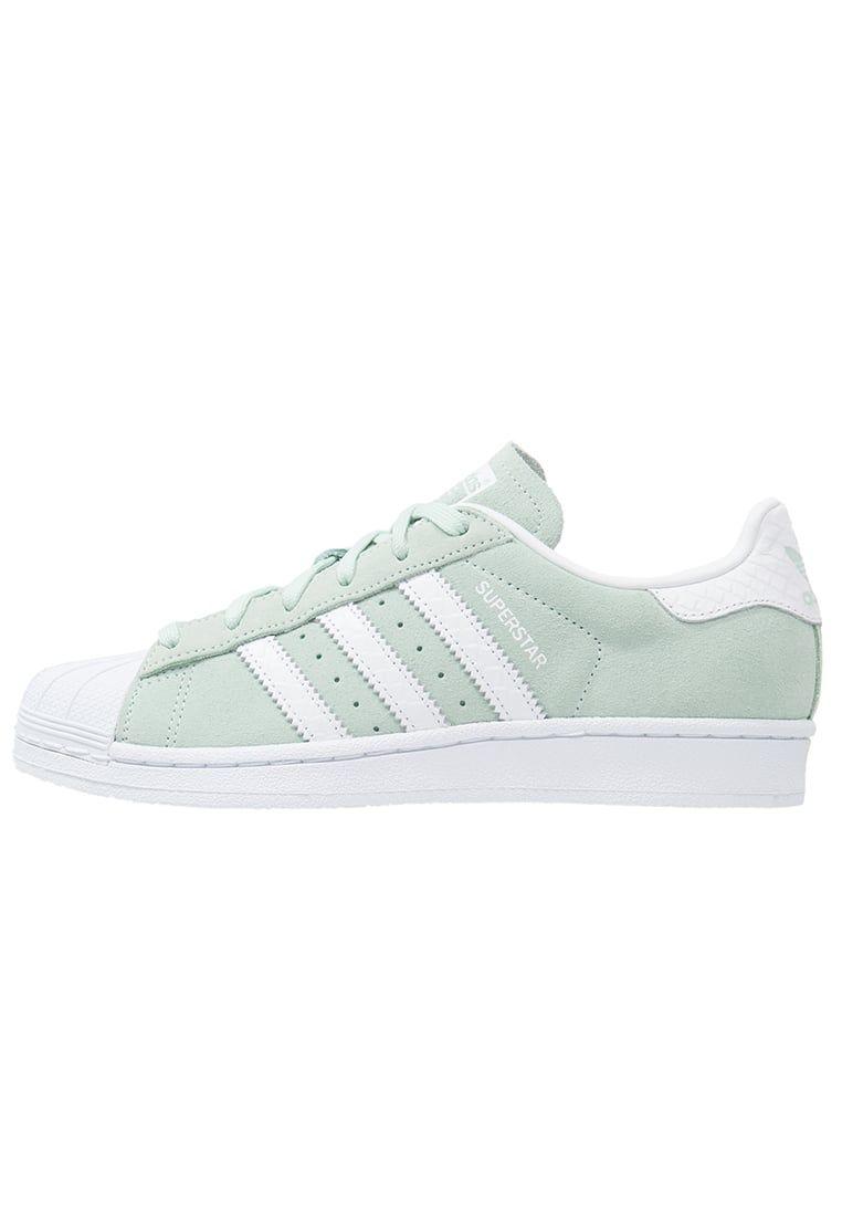 best loved 68060 b4a63 ¡Cómpralo ya!. adidas Originals SUPERSTAR Zapatillas ice mint white. adidas  Originals SUPERSTAR Zapatillas ice mint white Ofertas   Material exterior   piel, ...