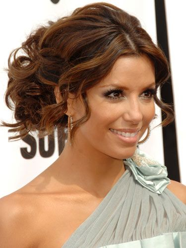 Potential hair for dinas wedding hair styles pinterest eva longoria hairstyle for vow renewal urmus Choice Image