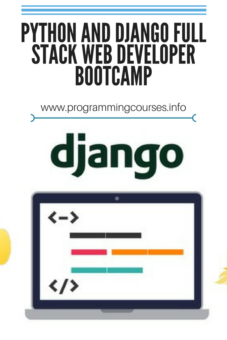 Python and Django Full Stack Web Developer Bootcamp | pin | Web