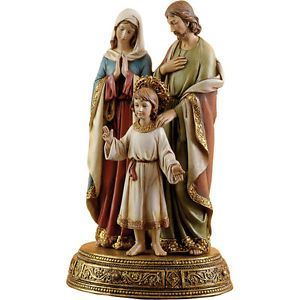 Holy Familhy with Boy Jesus Josephs Studio 41213