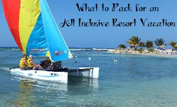 Here's a list of what you must pack for an all inclusive resort vacation. This packing list and tips will ensure you don't forget anything (because even all inclusive resorts don't have everything!).