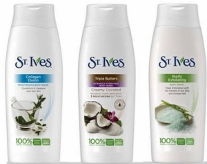 Walgreens: St. Ives Body Wash only $1.23 each Starts Sunday!
