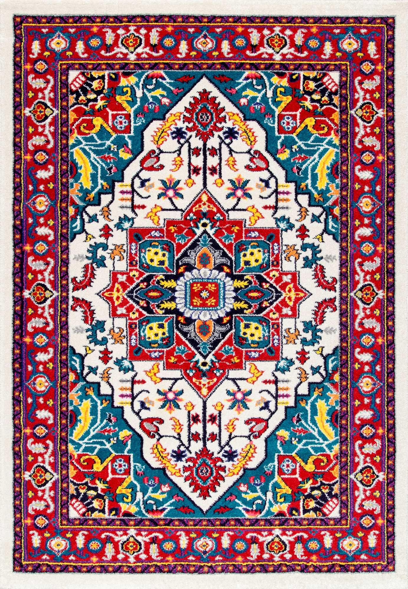 Like A Festival Of Colors This Rugs Usa Albina Cr18 Madge