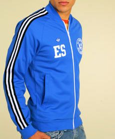 partido Democrático Complicado Sobriqueta  Been looking for this for years!! El Salvador Jacket. I really want this!  Can't find it anywhere. | Jackets, Adidas jacket, Athletic jacket