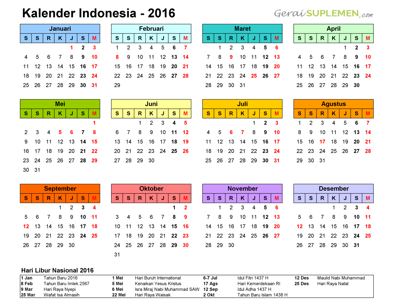 kalender 2019 pdf indonesia home sweet home. Black Bedroom Furniture Sets. Home Design Ideas