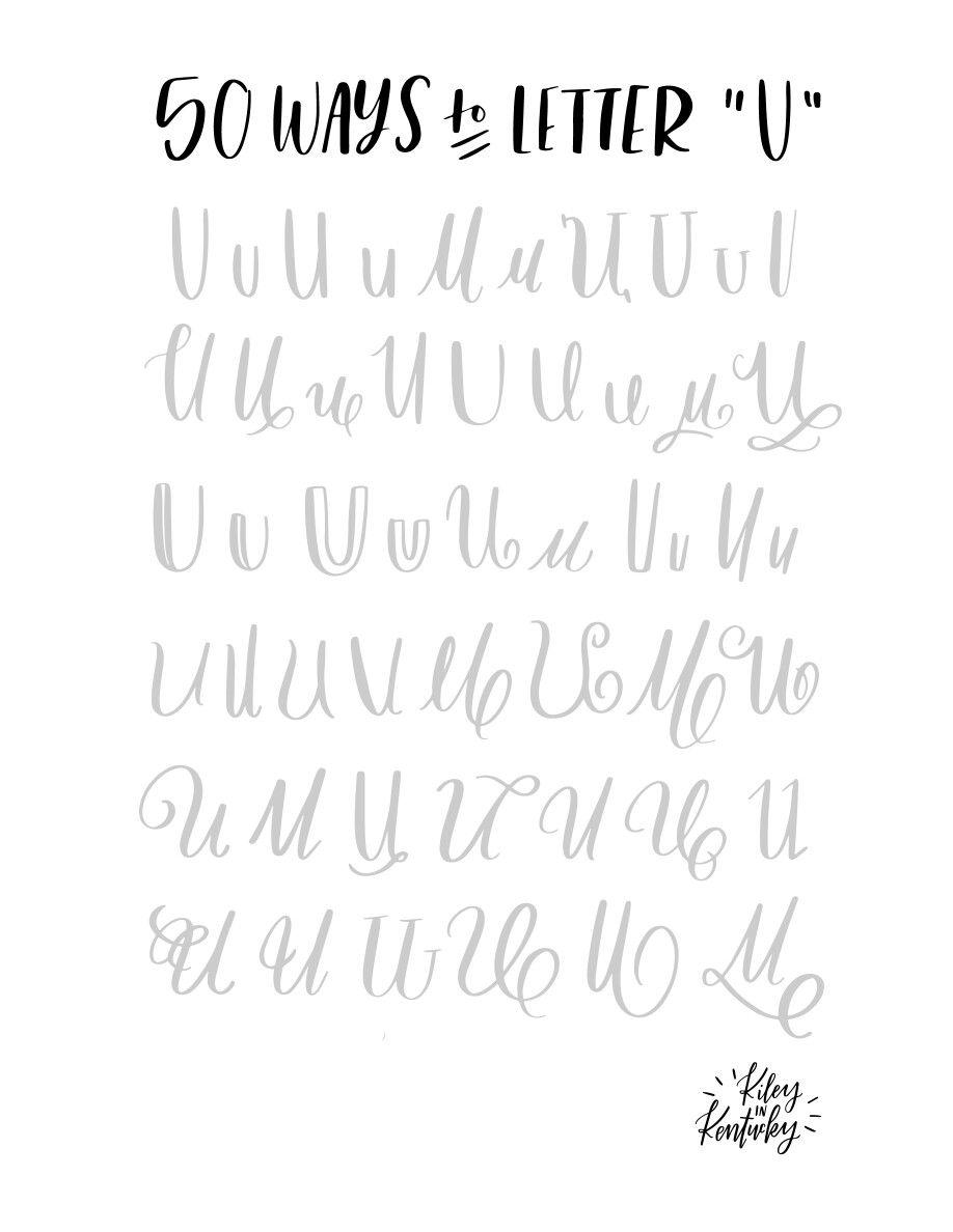Pin by Melissa Marshall Kultgen on Hand lettering
