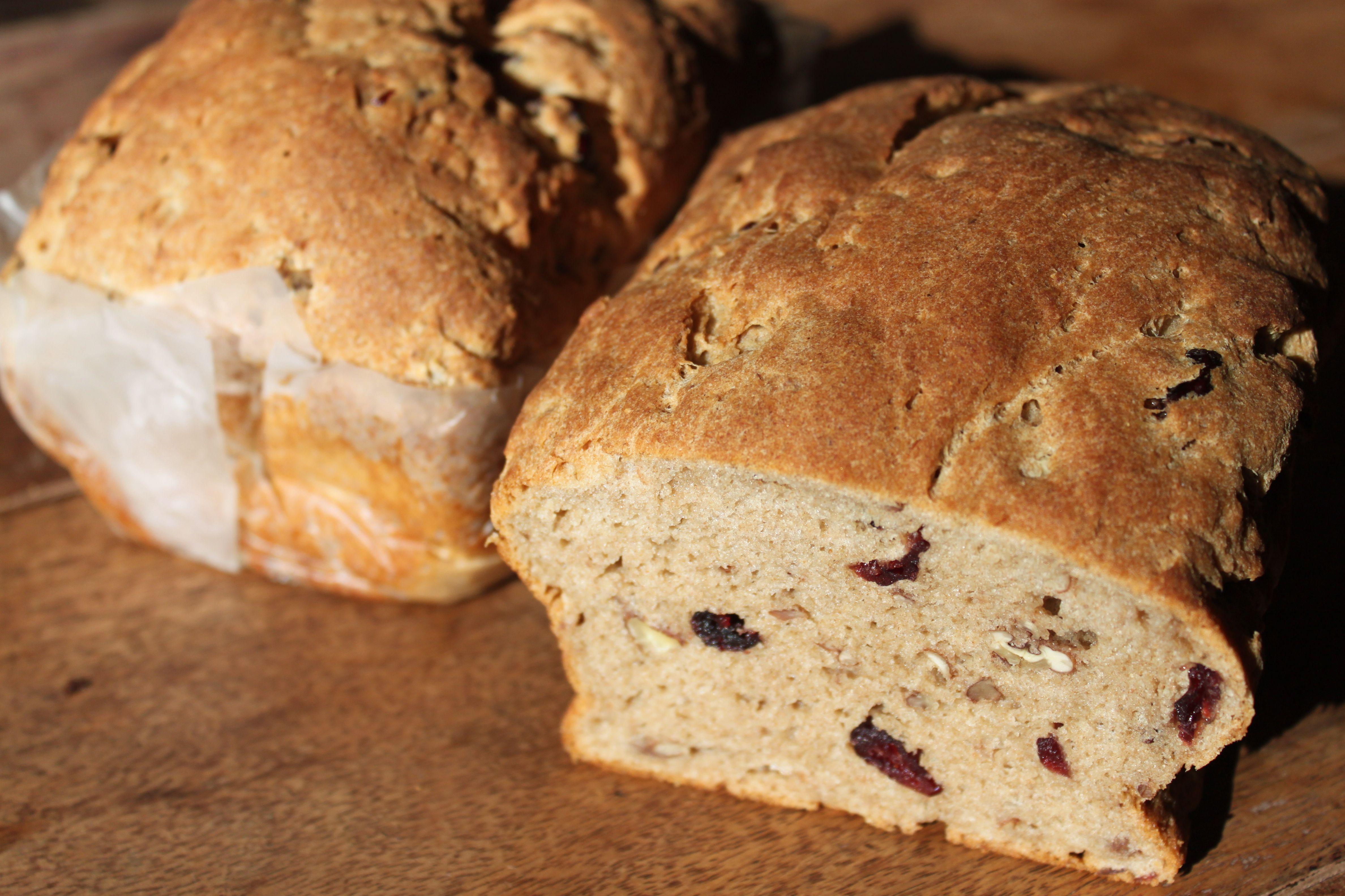 GF Cranberry Pecan Bread Gluten Free Real Food Food