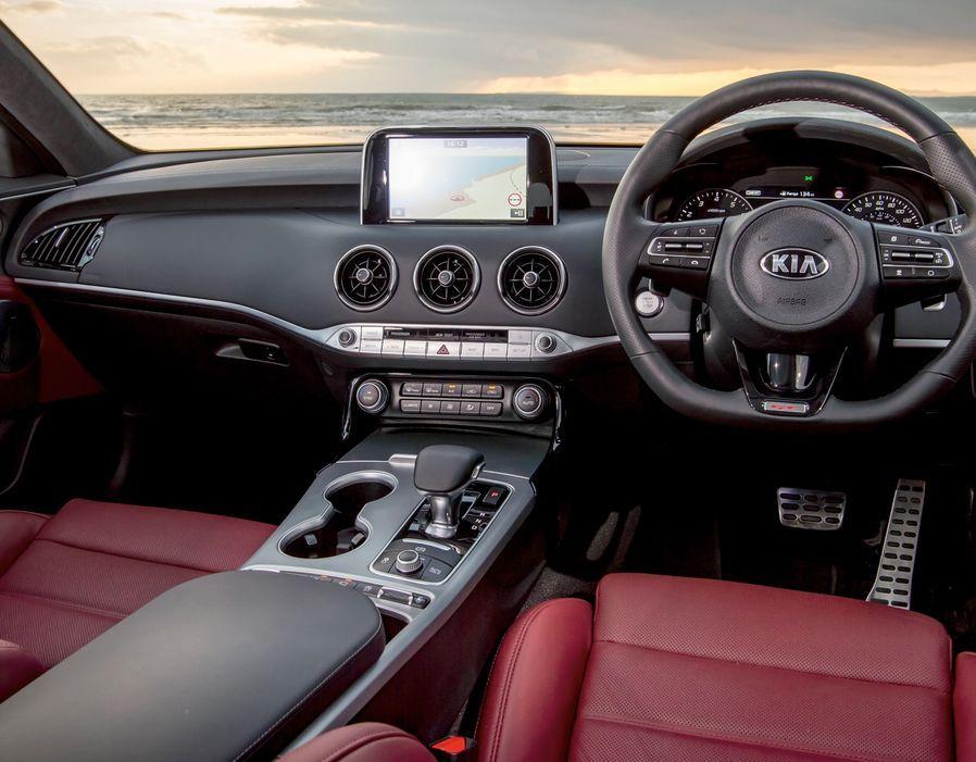 Kia Stinger Gt Revealed In Uk Price Specs Released For New Gran Turismo Kia Stinger Kia New Cars