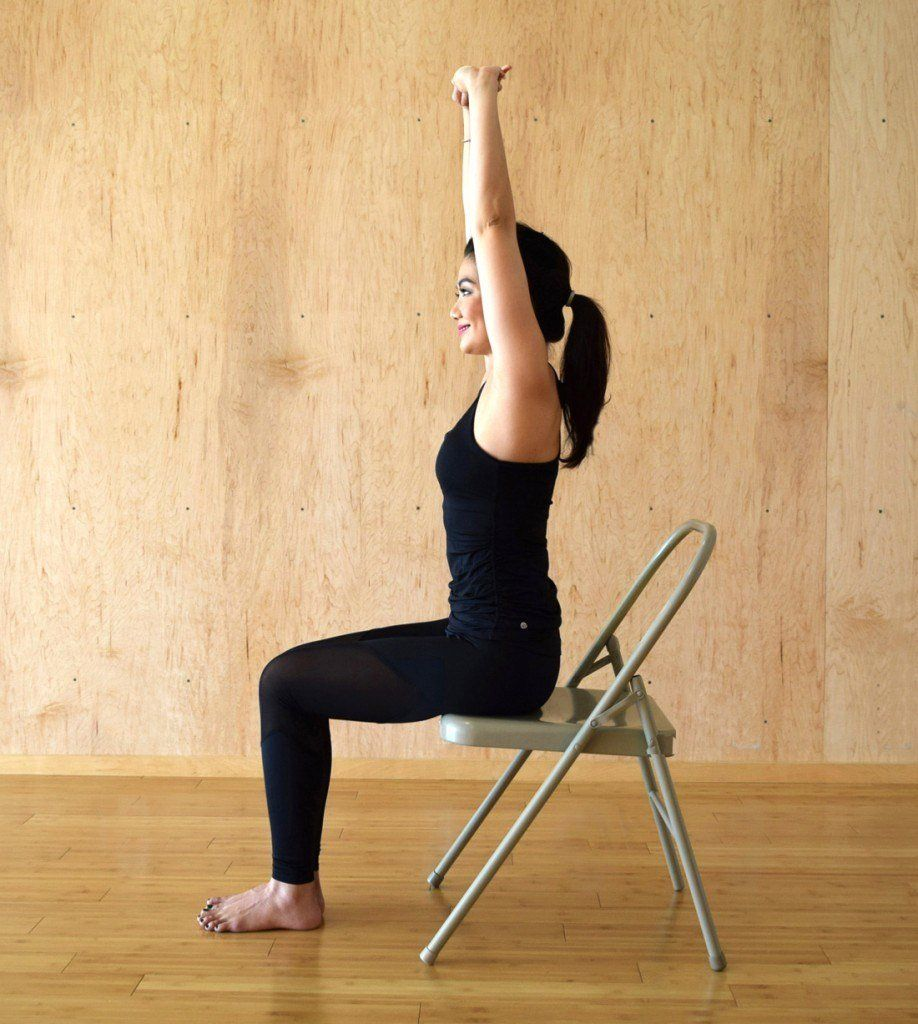 29 Exercises You Can Do At (Or Near) Your Desk Chair