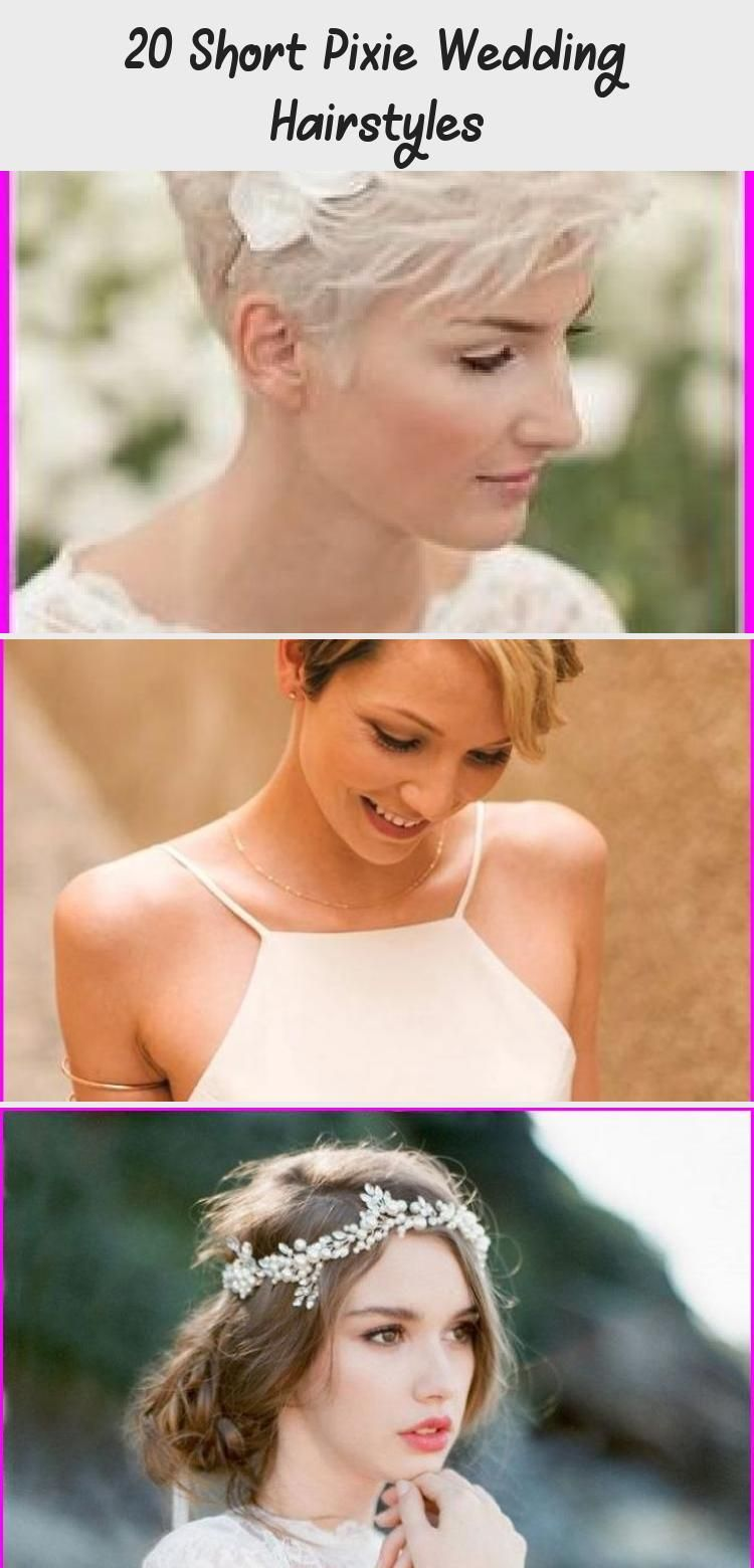 12 Short Pixie Wedding Hairstyles in 1212  Wedding hairstyles