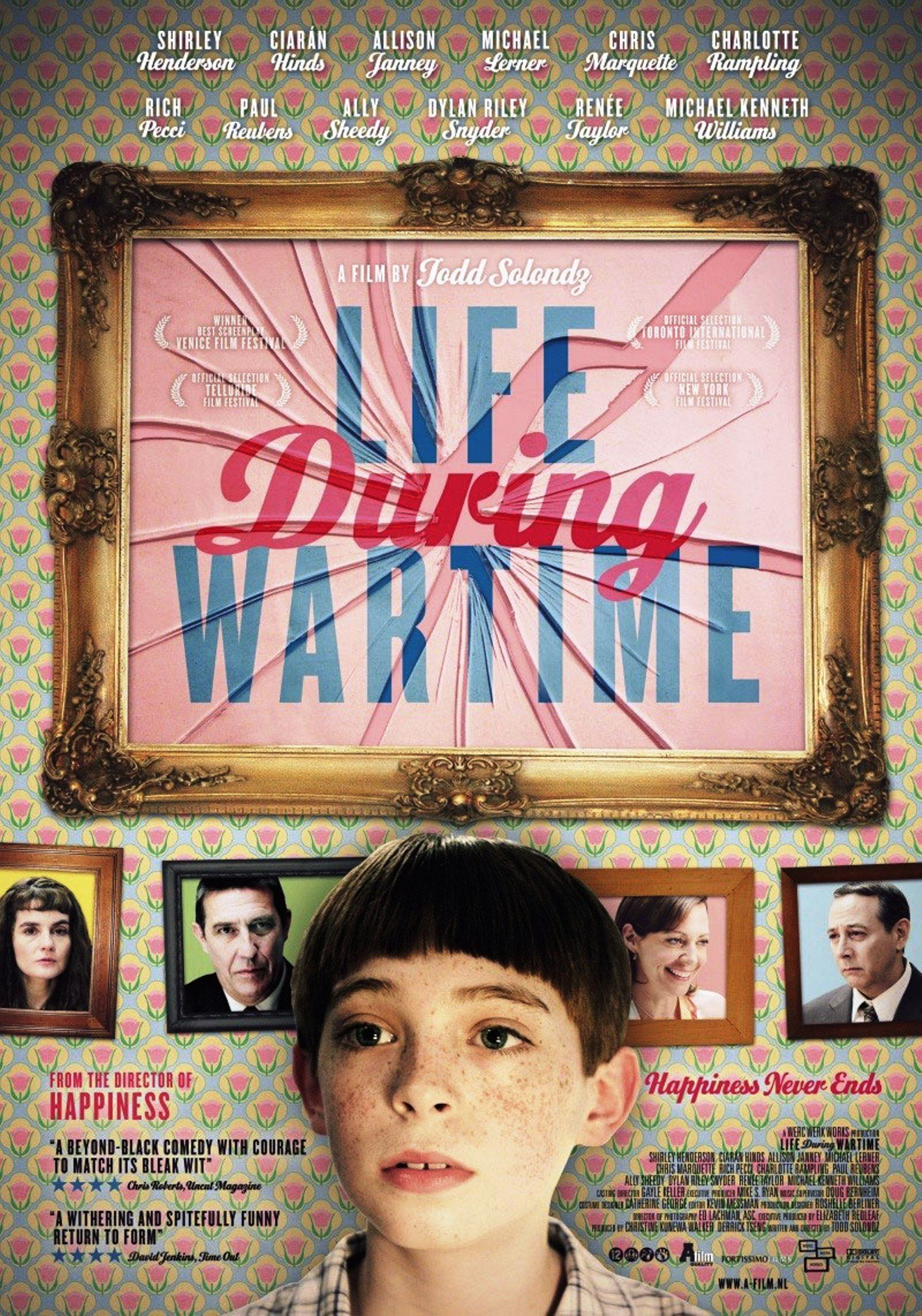 """All Comedy Movies In 2009 life during wartime"""" movie poster, 2009. 