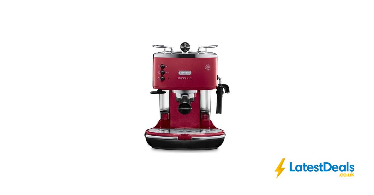 *HALF PRICE* DELONGHI Icona Micalite Coffee Machine, £99