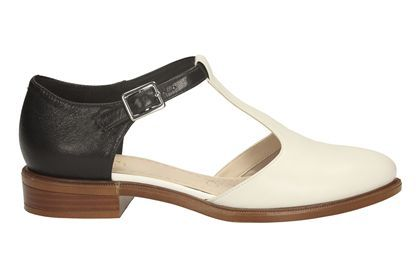 womens casual shoes  taylor palm in black white lea from