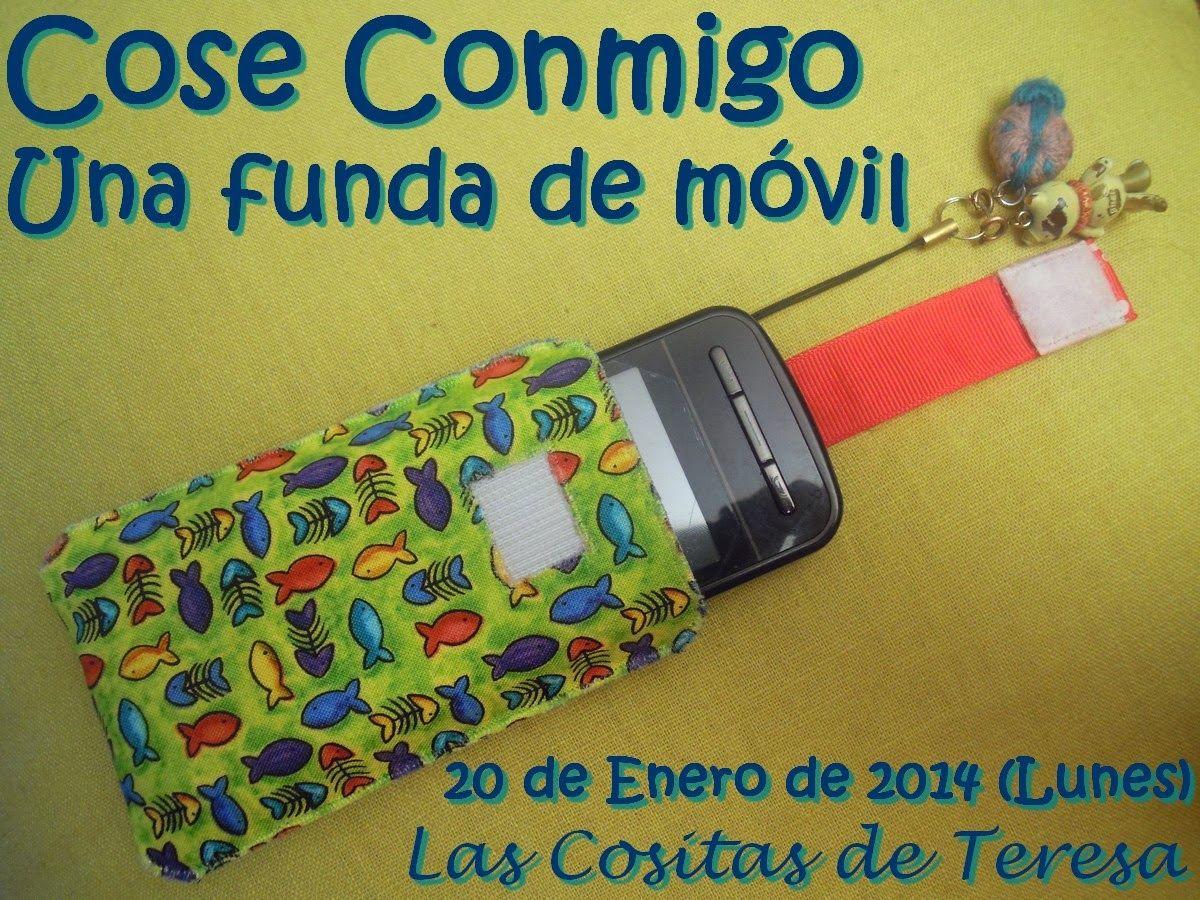 Las Cositas de Teresa: El día D - CC una funda de móvil Té una tira que s'estira i el mòbil surt sol de la funda :-)