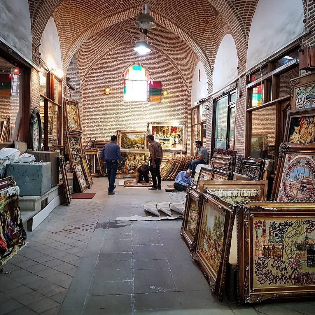 The Tabriz Bazar Is Amazing You Can Wander Around For Hours And Not Get Bored Iran Staircase Makeover Hotels Design Stair Runner Carpet