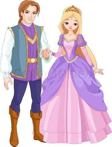 Ich verbinde diese Bildung, mit ein Prinz und eine Prinzessen, mit Märchen, weil ein Prinz und eine Prinzesse sehr typischen Personen in eine Märchen sind.