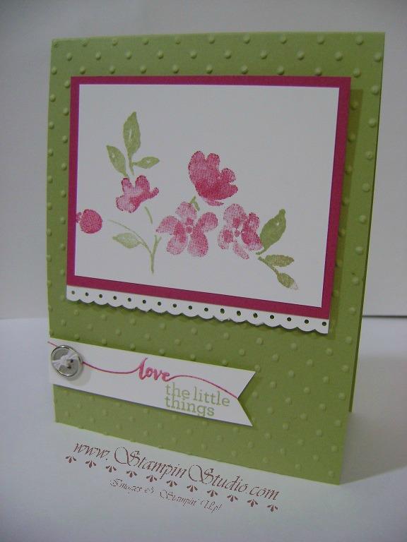 Stampin' Studio, Stampin' Up! Artisan Embellishment Kit, Hello Life, Painted Petals