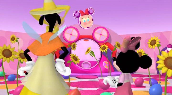 Quoodles Mickey and friends, Disney junior, Minnie