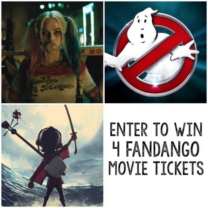Win 4 Fandango Movie Tickets In This Giveaway Fandango Movies
