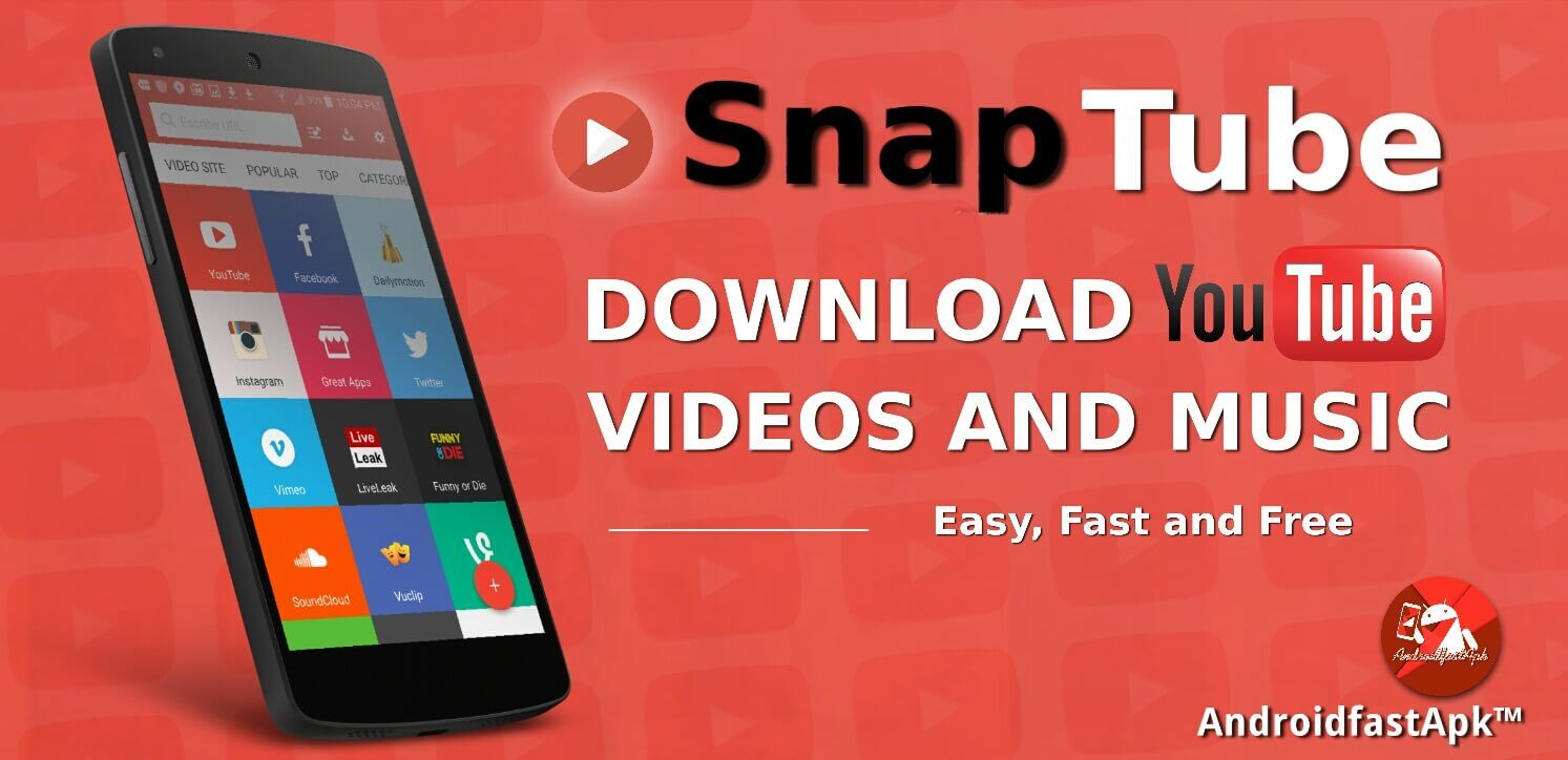Download SnapTube Vip v4 8 0 8576 APK - Downloadhub Pw