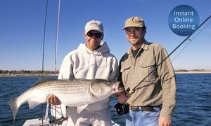 Groupon - Half-Day Deep Sea Fishing Trip for 1 ($ 95), 2 ($185) or 14 ($999) with Blue Reef Fishing Charters (Up to $1,400 Value) in Multiple Locations. Groupon deal price: $95